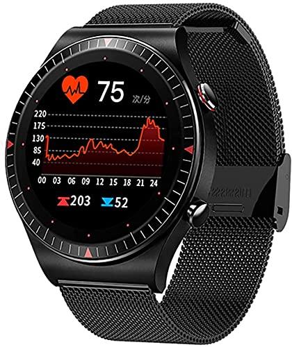 wyingj Música Reloj Inteligente Señoras 4G Función de Grabación de Memoria Bluetooth Llamada Reloj Inteligente Hombres s Fitness Tracker Reloj Deportivo