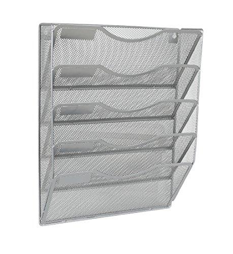 EasyPAG - Soporte archivador pared 5 compartimentos