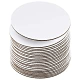 10 Inch White Cake Boards [24 Pack] Cake Rounds, Disposable Cake Board, Cake Base Cardboard, 10' Cake Circles Plate or Stand