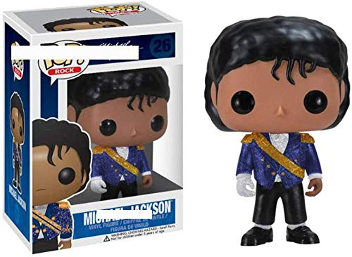 Nobranded Funko Pop Michael Jackson derrotó a Billie Jean Bad Vinyl Figures Collection Modelo Juguetes para niños Regalo de cumpleaños