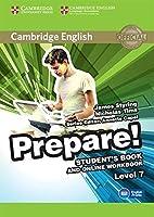 Cambridge English Prepare! Level 7 Student's Book and Online Workbook 1107498015 Book Cover