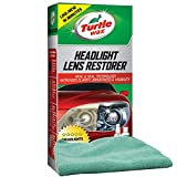 Turtle Wax Headlight Lens Restorer Bundled with a Microfiber Cloth (2 Items)