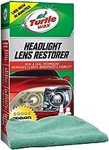 Turtle Wax Headlight Lens Restorer Bundled with a Microfiber Cloth (2 Items)