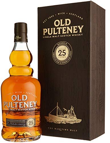 Old Pulteney 25 Years Old mit Geschenkverpackung (1 x 0.7 l)