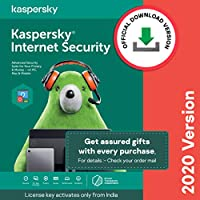 Kaspersky Internet Security 2020 Latest Version - 1 PC, 3 Years (Code emailed in 2 Hours - No CD)