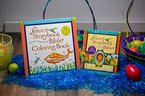 The Jesus Storybook Bible Coloring Book for Kids: Every Story Whispers His Name