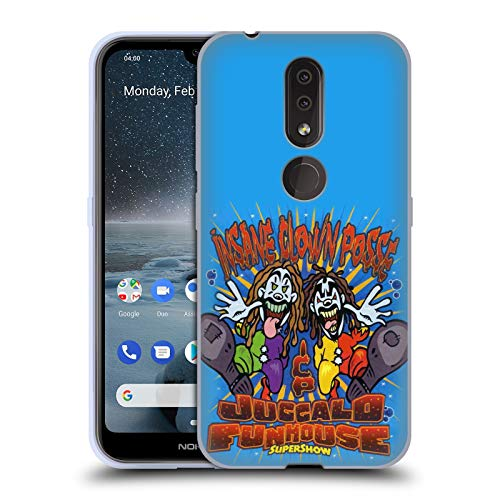 Head Case Designs Officially Licensed by Insane Clown Posse Uggalo Funhouse Tour Posters Soft Gel Case Compatible with Nokia 4.2