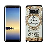 Galaxy Note 8 Harry Potter Case, IMAGITOUCH 2-Piece Style Armor Case with Flexible Shock Absorption Case and Harry Potter Always Cover for Galaxy Note 8 (2017)– Harry Potter Dumbledore Hybrid