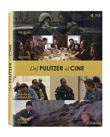 Pulitzer Prize Winners Movies Collection - 4-Disc Set ( On the Road / August: Osage County / Kill the Messenger / The Shipping News ) [ Spanische Import ] (Blu-Ray)
