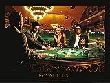 1art1 Chris Consani - Royal Flush Poster Kunstdruck 80 x 60