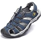 KIIU Mens Sport Athletic Sandal Closed Toe...