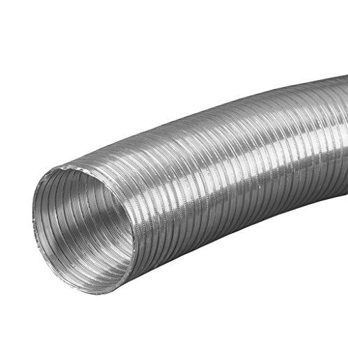 80 mm ALU Flexrohr 3 mtr gestaucht auf ca. 1 mtr Hitzebeständig bis 200 Grad