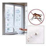 HUAIHUA Anti Mosquito Net Fensternetz Mesh Screen Mosquito Mesh Vorhangschutz Insect Bug Fly Mosquito Window Mesh Screen-150X130Cm