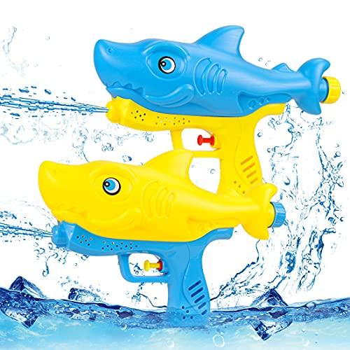 O-Kinee Pistola de Agua, 2 Piezas Water Pistol Gun, Juguetes Piscina Water Gun, Pistola de Agua de Juguete, Piscina Juguetes Niños para Batalla de Agua, Playa, Juego al Aire Libre