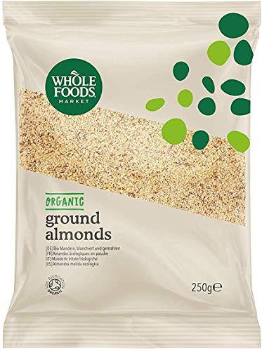Whole Foods Market - Mandeln, blanchiert und gemahlen, aus biologischer Landwirtschaft, 250 g