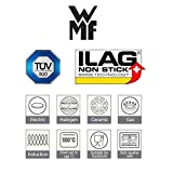 WMF Transtherm Induktion Topfset 9 tlg, Edelstahl Töpfe-Set, Kochtopf mit Deckel Ø 16,20 und 24cm, Bratentopf mit Deckel Ø 20cm, Stieltopf Ø 16cm - 8
