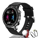 Smartwatch Fitness Watch Uomo Sport Polso da Donna, Telefono Bluetooth, Lettore Musicale, 14...