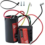 Wadoy CSR-U1 5-2-1 Hard Start Kit for Air Conditioner, Compressor Saver Hard Start Capacitor Compatible for 1-2-3 Tons