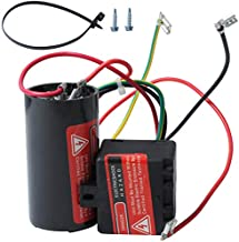 Wadoy CSR-U1 5-2-1 Hard Start for Air Conditioner, Compressor Saver Capacitor Compatible with 1-2-3 Tons, Hvac Hard Start KitHard Start