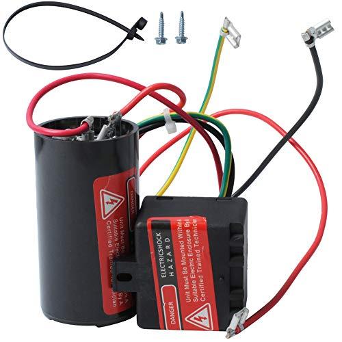 Wadoy CSR-U1 5-2-1 Hard Start Kit for Air Conditioner, Compressor Saver Hard Start Capacitor Compatible for 1-2-3 Tons