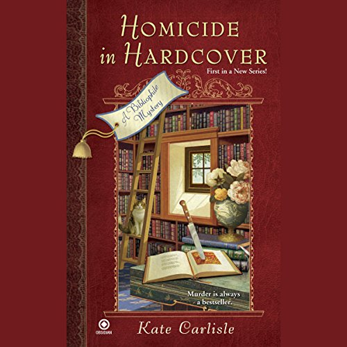 Homicide in Hardcover     A Bibliophile Mystery              By:                                                                                                                                 Kate Carlisle                               Narrated by:                                                                                                                                 Eileen Stevens                      Length: 7 hrs and 56 mins     416 ratings     Overall 3.9