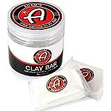 Adam's Fine Grade Clay Bar Kit 200g - Premium Car Detailing Clay Fallout Remover of Light Contamination Tree Sap & Grime   Use W/Detail Spray Car Wash Kit Car Wax Buffer Polisher Ceramic Coating
