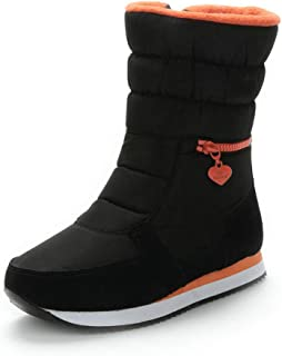Winter boots women warm shoes snow boot 30% natural wool footwear big size zipper mid-calf
