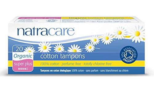 Natracare Super Plus 20 Tampons en coton bio
