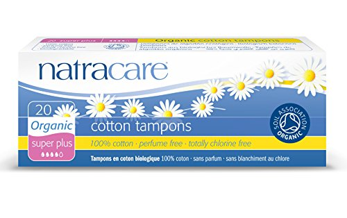 Natracare Super Plus 20 Tampons en coton bio