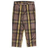 ローリングクレイドル ROLLING CRADLE CHECK CROPPED PANTS(BROWN)