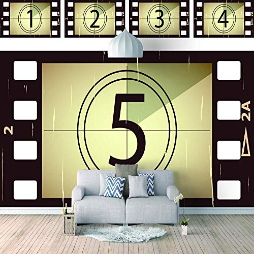 Fototapeten Kinofilm Kunstdrucke Wandbild Bild Format Wandbilder Wohnzimmer Wohnung Deko Leinwandbilder W400Xh280Cm
