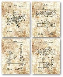 gifts for pilots ~ vintage prints