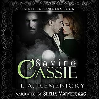 Saving Cassie audiobook cover art