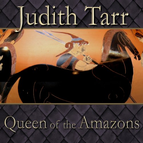 Queen of the Amazons audiobook cover art