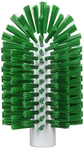 Vikan Stiff Tube Brosse, Polyester, 3-1/2 inches x 6-1/4 inches OAL, Green, 1