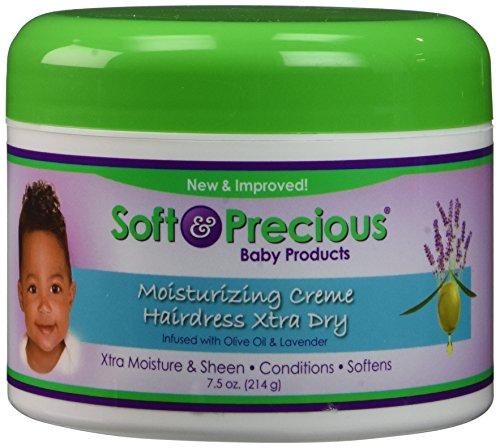 Soft & Precious Baby Products Moisturizing Creme Hairdress Xtra Dry, 7.5 Oz