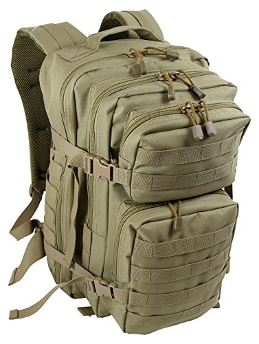 Extrem Großer Rucksack 50 Liter Backpack Outdoor Robuster Multifunktions Military Rucksack für Backpacker Farbe Camel