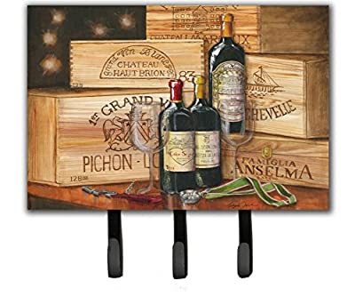Caroline's Treasures TMTR0254TH68 Wine Gran Vin by Malenda Trick Leash or Key Holder, Large, Multicolor