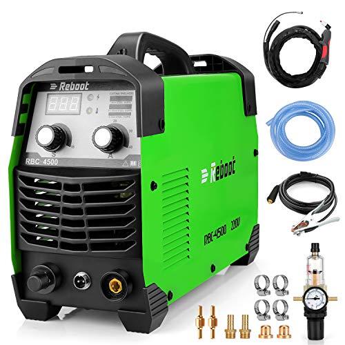 Reboot Taglierina al plasma 45Amps HF 230V taglierina pulita 10-12mm Taglio a contatto...