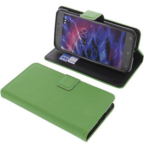 foto-kontor Tasche für MEDION Life E5008 Book Style grün Schutz Hülle Buch