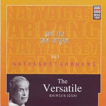 The Versatile Bhimsen Joshi - Natyageet & Abhang - Volume 1