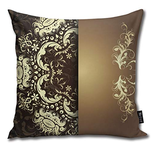EU Dimensioni quadrate di federe Decorative per divani Floreali damascati