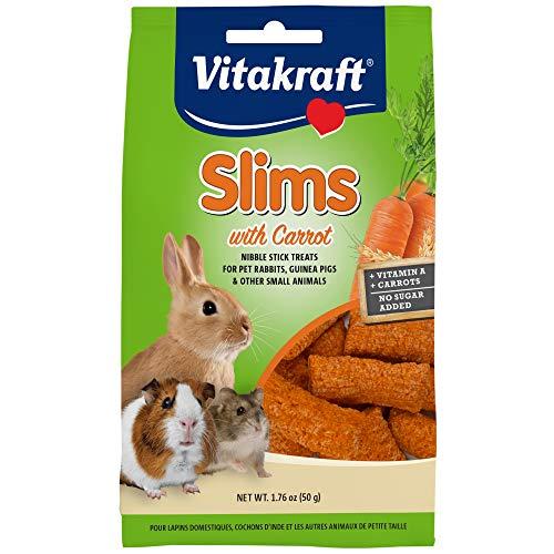 Vitakraft Pet Rabbit Slims With Carrot - Nibble...
