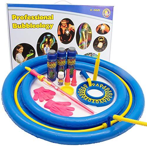 Uncle Bubble BUB-017 - Kit de burbuja profesional (incluye espada Mega-Loop y...