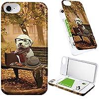 iPhone8 iPhone7 iPhone6 iPhone6s ケース ミラー 付き イヌ 犬 マルチーズ 旅犬 ミラーケース わんこ 犬柄 紅葉 アイフォン8 アイフォン7 アイフォン6 アイフォン6s カバー 秋 わんちゃん 鏡付き iPhoneケース