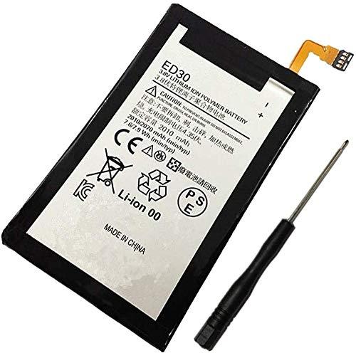 Uniamy Interner Handy-Ersatzakku für Motorola ED30 Moto G 1. Generation XT1032 XT1028 XT1031 XT1033 XT1036 XT937C SNN5932A, offizielles Lizenzprodukt mit Installationswerkzeugen