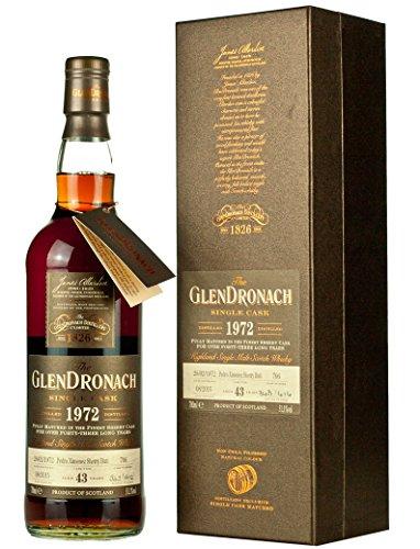 Glendronach - Single Cask #706 Batch 12 - 1972 43 year old Whisky