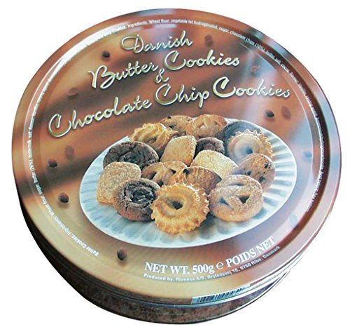 Danish Butter Cookies & Chocolate Chip Cookies