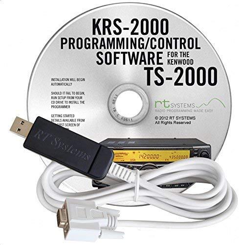 Kenwood KRS-2000 Software de programación con cable USB para Kenwood TS-2000, TS-2000X