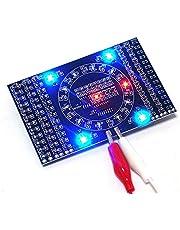 Roterende Knipperende LED Componenten Solderen Praktijkbord Skill Elektronische Circuit Training Suite Elektronische DIY Kit